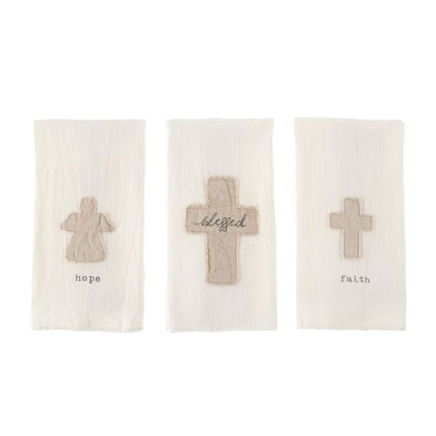 Blessed Applique Towels