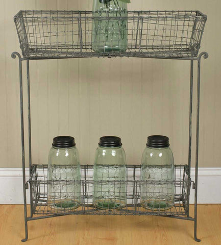 Catch-All Basket Shelves