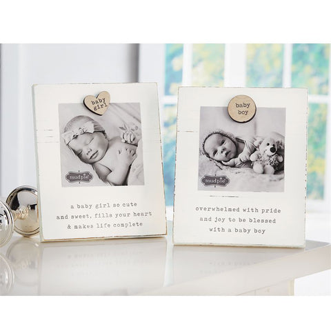 Baby Magnetic Wood Frame