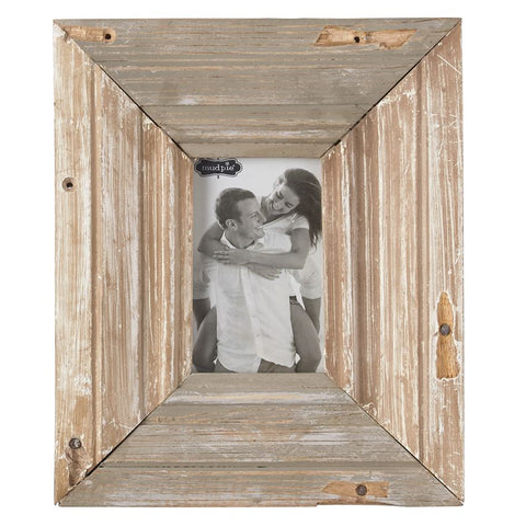 "Reclaimed Wood Frame, 4"" x 6"""
