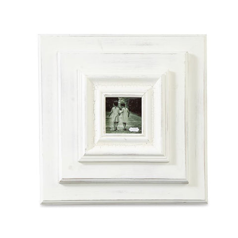 "White-Washed 13"" Wall Frame"