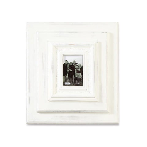 "White-Washed 19"" x 17"" Wall Frame"