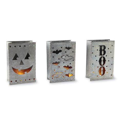 Halloween Tin Luminaries
