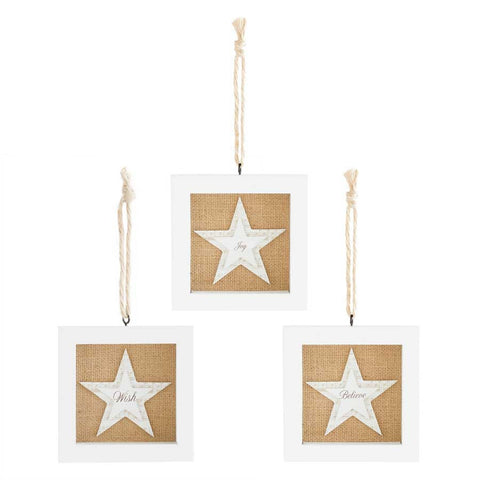 Star Shadow Box Ornaments