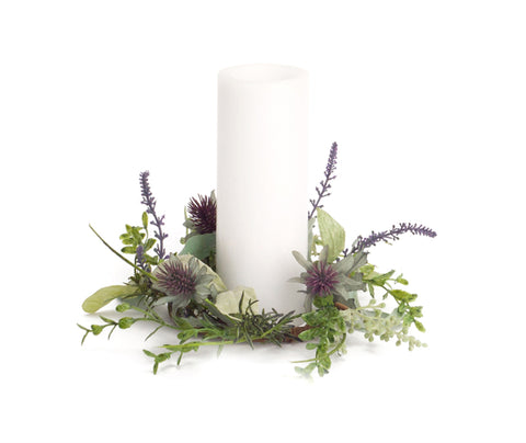 Herb/Thistle Candle Ring