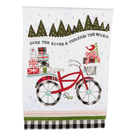Christmas Bike Towel