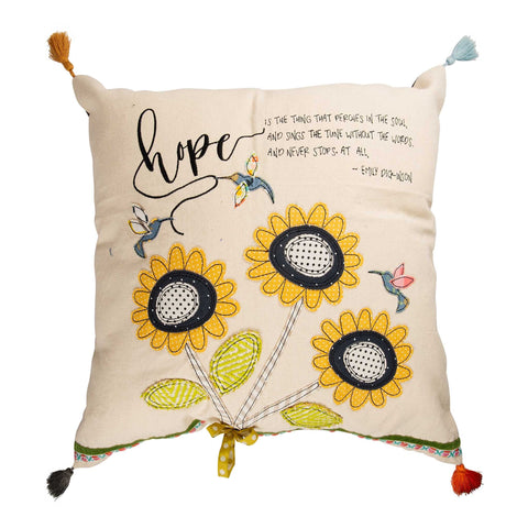 Hope Is The Thing Pillow