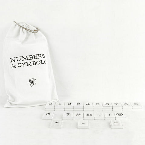 Bag of Numbers & Symbols