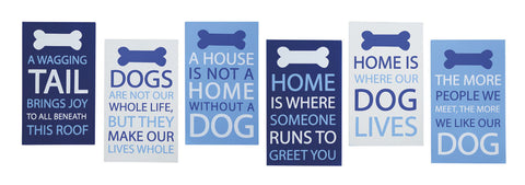 Dog Sayings Wall Sign