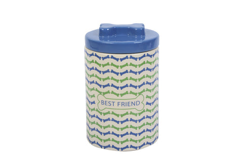 Best Friend Dog Bone Treat Jar