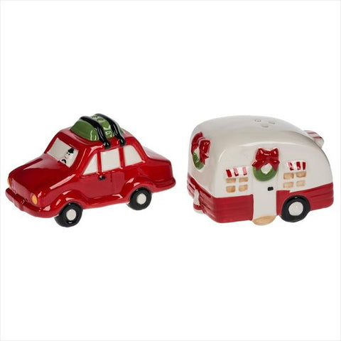 Christmas Camper Salt & Pepper