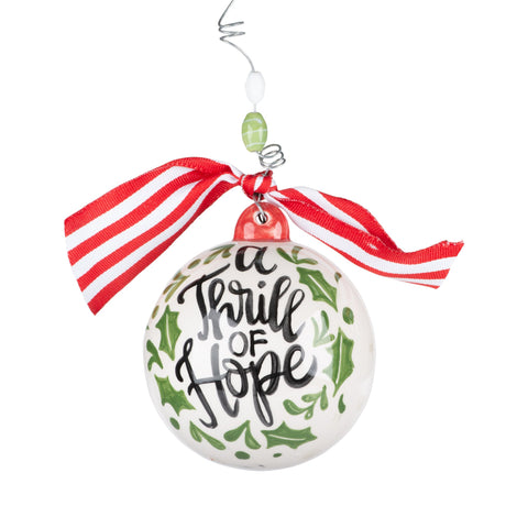 A Thrill of Hope Ornament