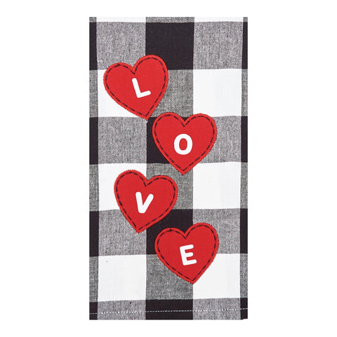 Love Hearts Franklin Towel
