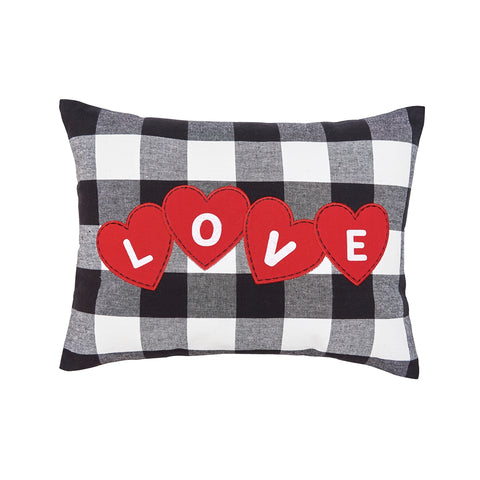 Love Hearts Franklin Pillow