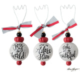 Ceramic Msg Ornament