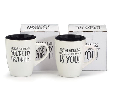 Chocolate Message Mug
