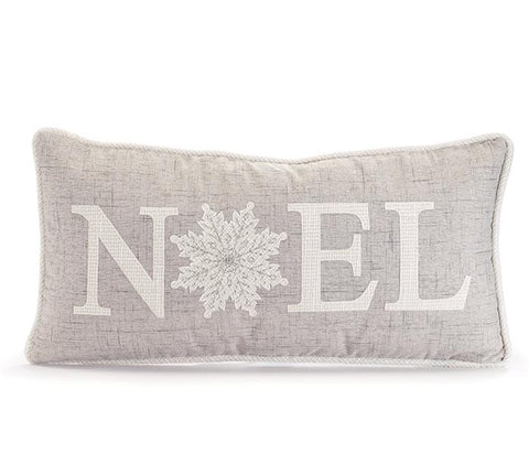 Noel Snowflake Pillow