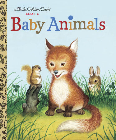 Baby Animals Little Golden Book
