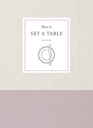 How To Set A Table Book