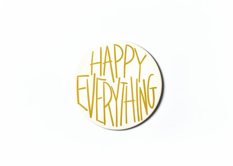 Happy Everything Gold Big Attachment