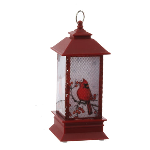 Lighted Cardinal Lantern Ornament