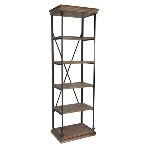 Wood & Iron Shelves