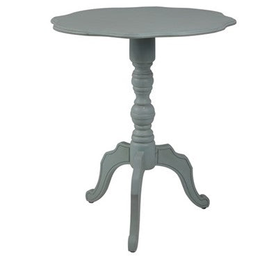 Accent Table, Scalloped Edge