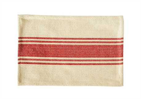 Cotton Striped Canvas Placemat