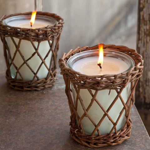 Autumn Gatherings Willow Candle
