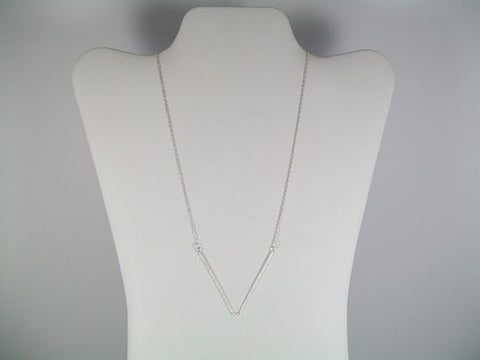 Metal V Shape Necklace