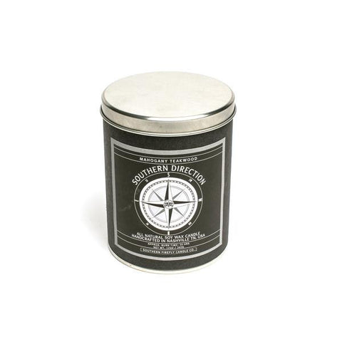 Mahogany Teakwood Southern Direction Candle