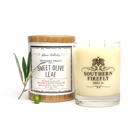 Sweet Olive Leaf Candle