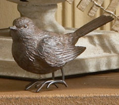 Brown Resin Bird