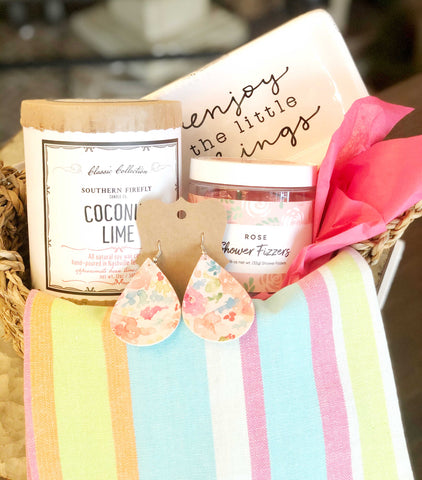 Summer Colors Gift Basket