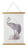 Crane Rolled Canvas