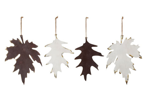 Metal Leaf Ornament