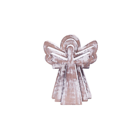 Angel Distressed Wood Puzzle