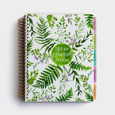 Botanical Dream Agenda Planner 2020-2021
