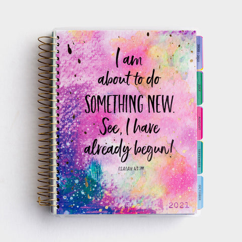 Something New Agenda Planner 2020-2021
