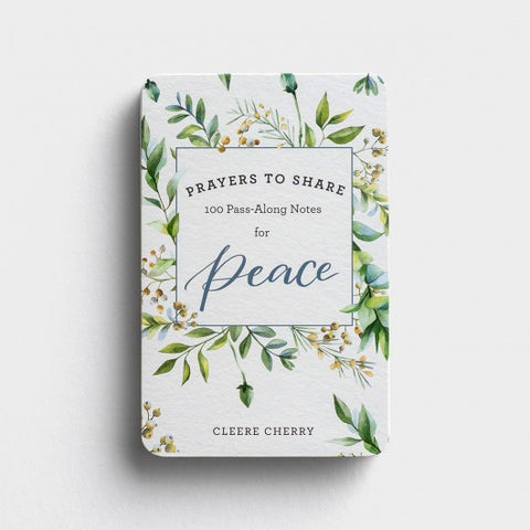 Prayers To Share Peace