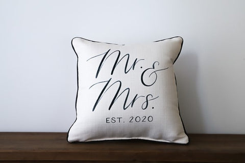 Mr & Mrs  Est 2020