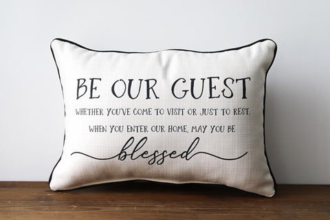 Blessed Guest Pillow