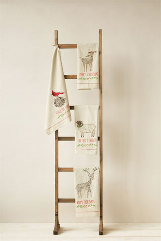 Tea Towel w/ Animal Image