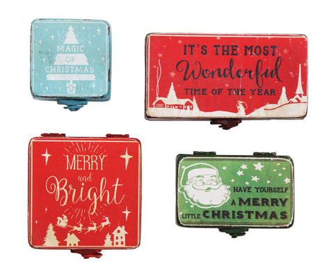 Metal Christmas Boxes