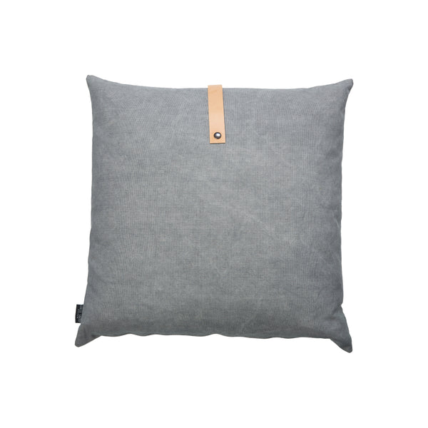 Design Cushion Canvas 50 x 50 cm, Dark/Light Grey Reversible