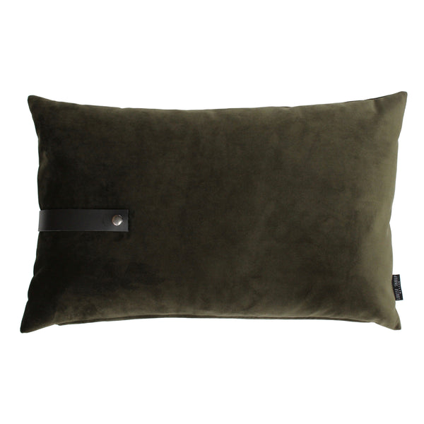 Design Cushion Velvet 40 x 60 cm, Army