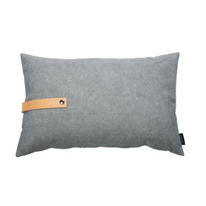 Design Cushion Canvas 40 x 60 cm, Dark/Light Grey Reversible
