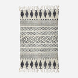 RUG, BLOCK, GREY/BLACK