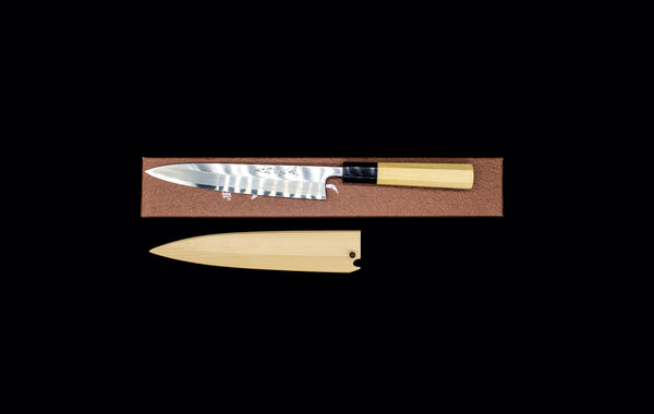 Gesshin Ittetsu 180mm White #2 Hon-Kasumi Single Bevel Left-Handed Wa-Petty