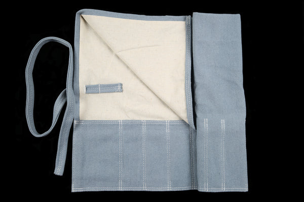 My Knife Bag Light Blue/Ivory